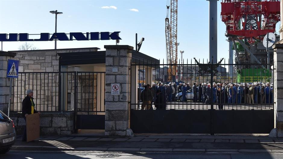 Croatia: Financial woes pushUljanik's4,500 employeesto go on strike