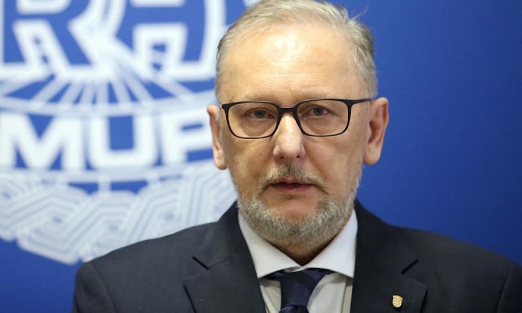 Croatia'sInterior Minister speaks of3200 illegal crossings into Croatia in 2018
