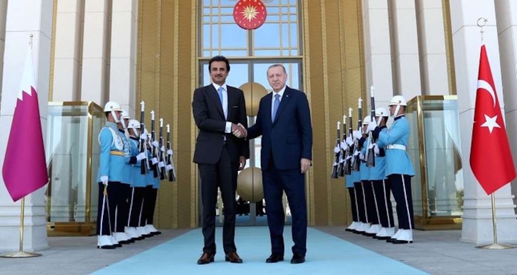 Currency swap agreement signed by thecentral banks of Qatar and Turkey
