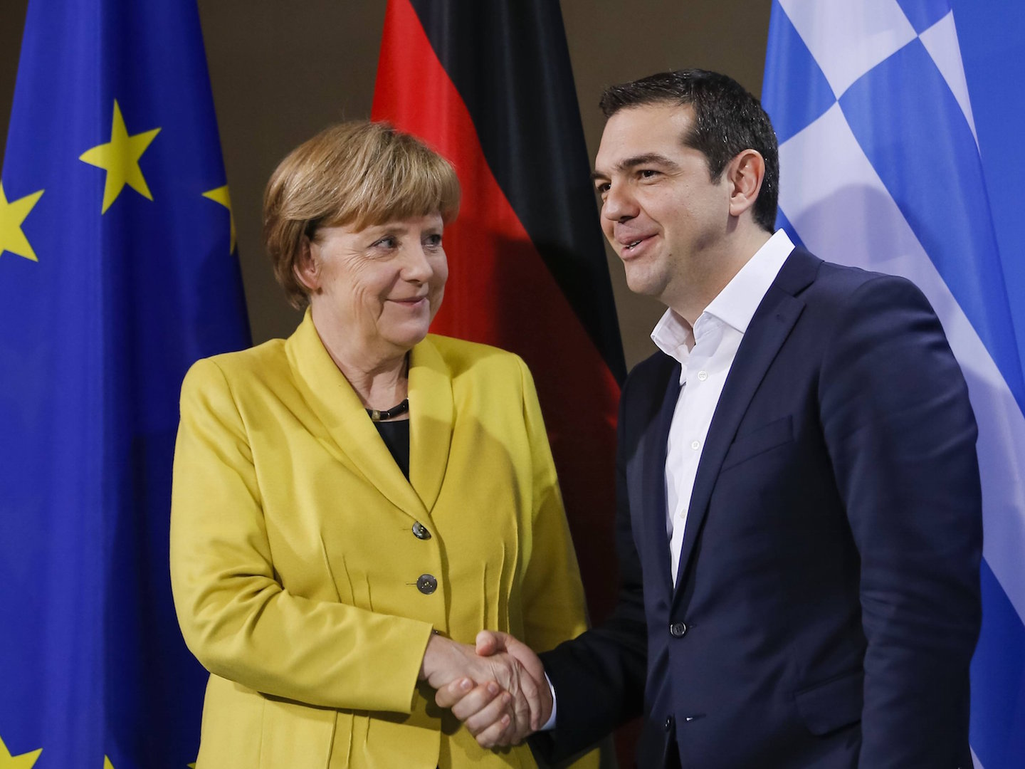 Athens-Berlin agreement under which Greece will take back refugees registered there