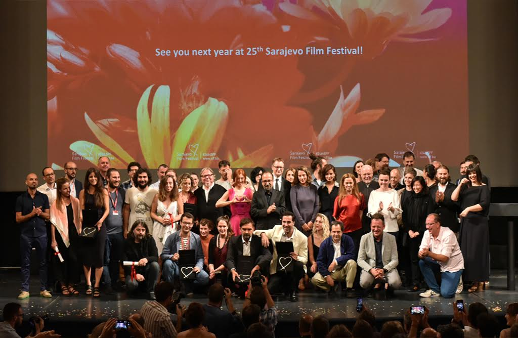 Tonight, the closing night of the 24th edition of the Sarajevo Film Festival
