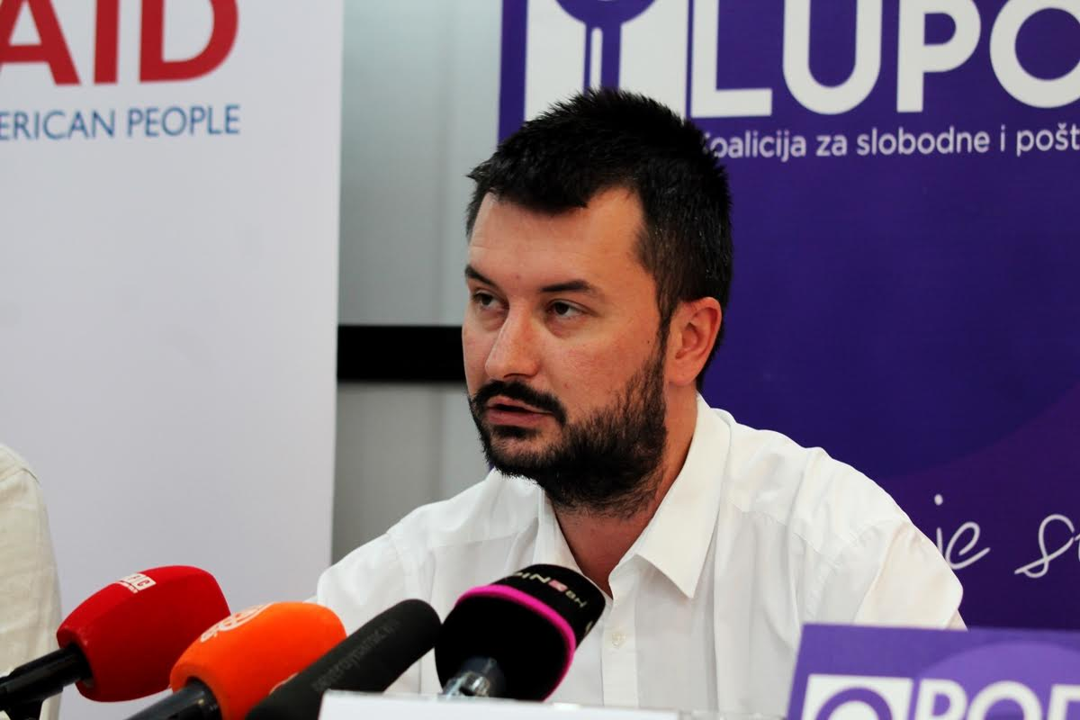 Interview: Dario Jovanović of 'Pod lupom' speaks ahead of the October 2018 polls in BiH