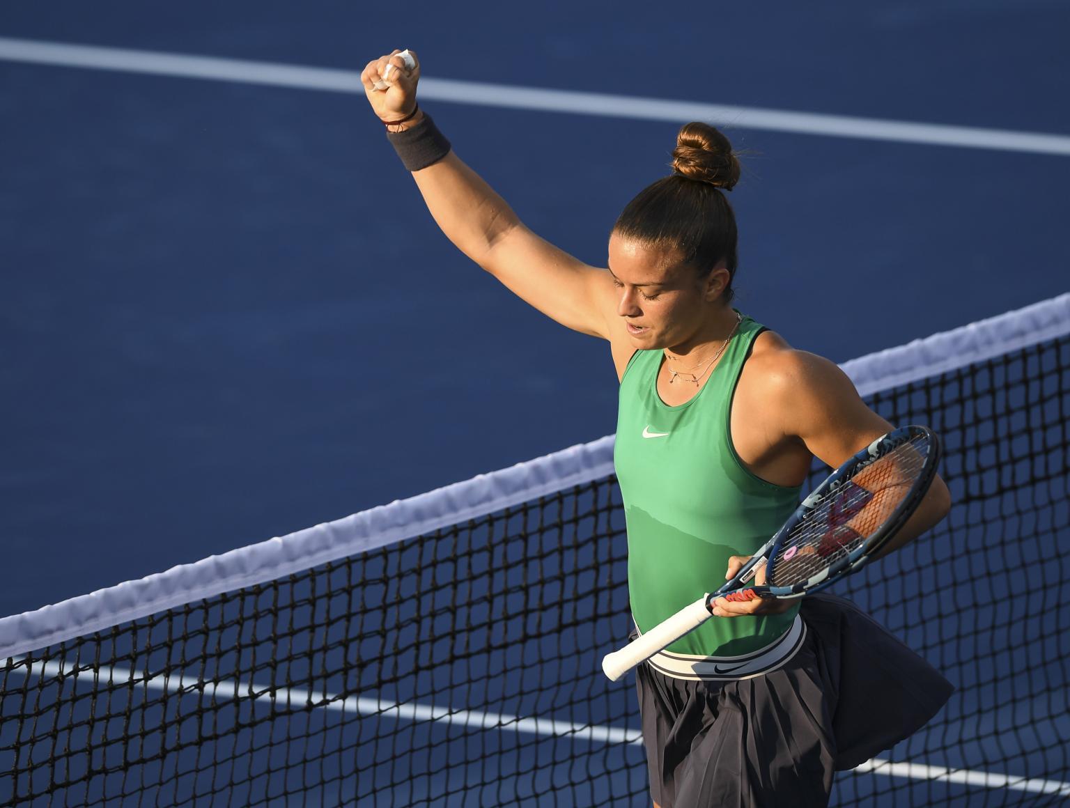 Solid win for Sakkari over BNP Paribas Open champion Naomi Osaka