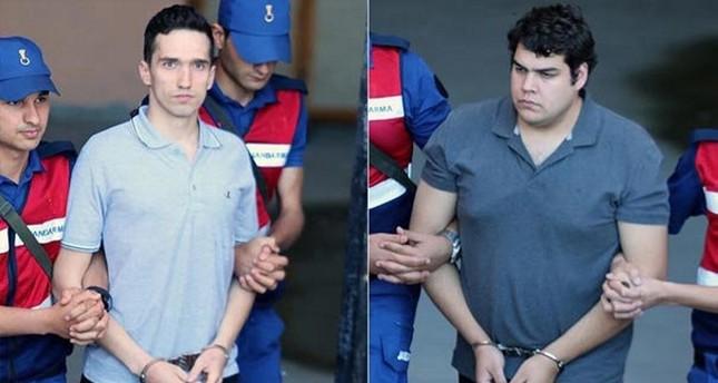 Turkey releases two Greek imprisoned officers
