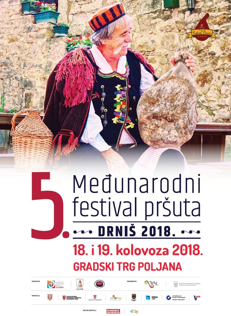 Croatia: 5th International Pršut Festival in Drniš on August 18-19