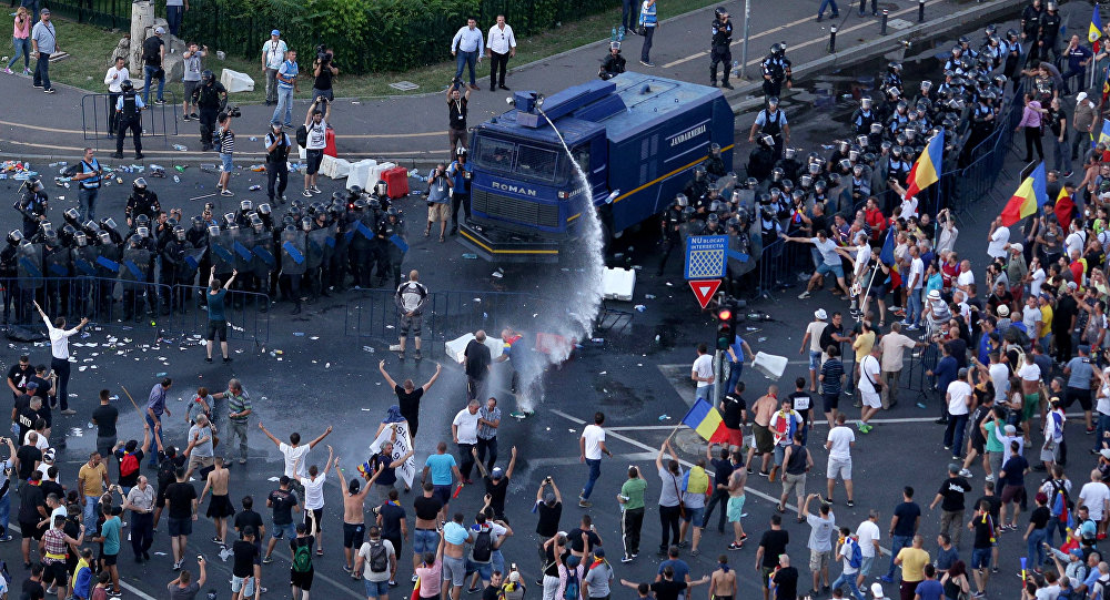 'Unacceptable and extremely serious incident': Israeli tourists beaten by Romanian riot police