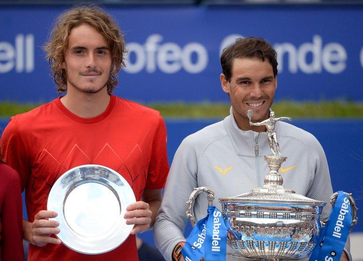 ATP Toronto:Tennis master Rafa Nadal makes Tsitsipas fall back