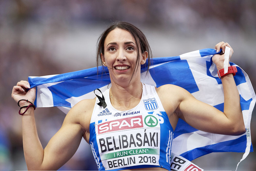 Belibasaki and Tsamis give Greece two more medals in Berlin
