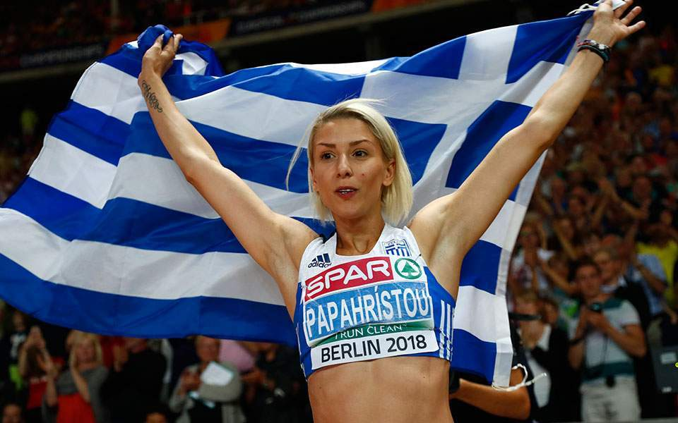 Greek triple jumper Voula Papachristou conquers the top of Europe
