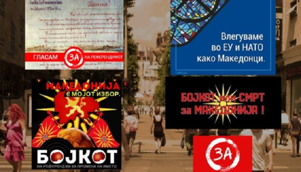 FYROM: Social networks are being used as the main stage for the campaign on the referendum
