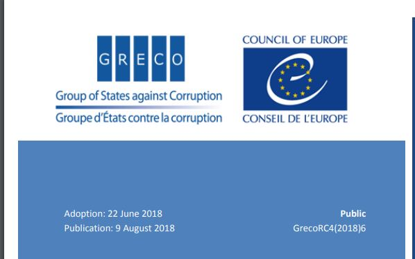 Greco report: fYRO Macedonia implemented only 6 of 19 anti-corruption recommendations