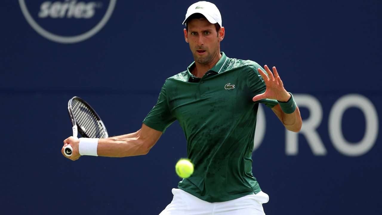 Djokovic advances to 2nd round in Toronto at 'the level of tennis I want to play on'