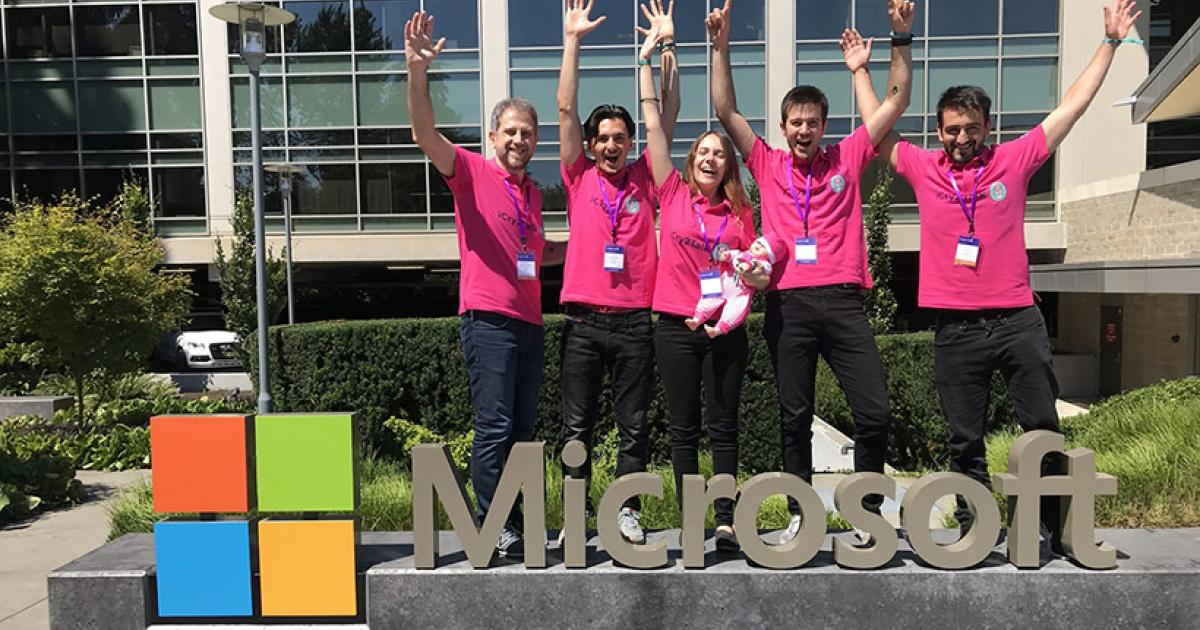 The amazing team behind the 'iCry2Talk' app runner-up atMicrosoft's 'Imagine Cup 2018'