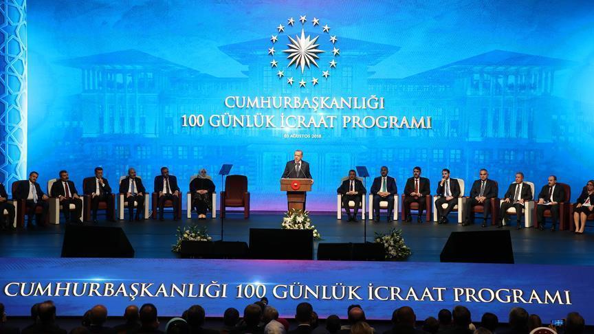 Erdogan's100-day action plan