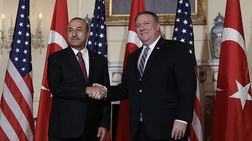 Pompeo, Cavusoglu meet in Singapore, agree to continue effort to resolve bilateral issues