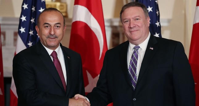 Secretary Pompeo's Call With Turkish Foreign Minister Cavusoglu