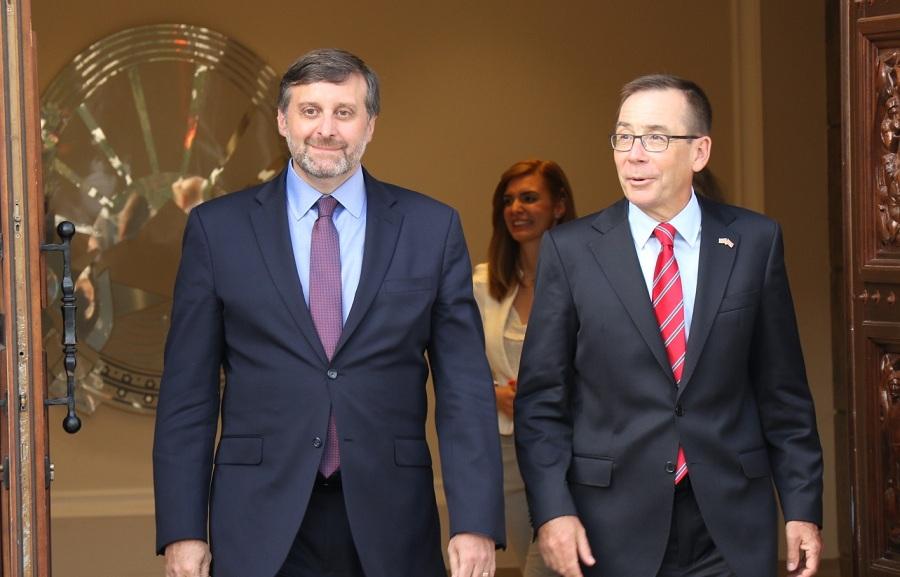 Palmer in Skopje: USA backs the deal reached in Prespa