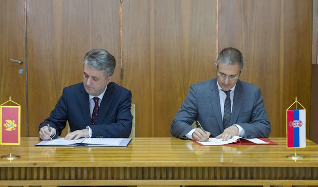 Cross-border agreements for Montenegro and Serbia