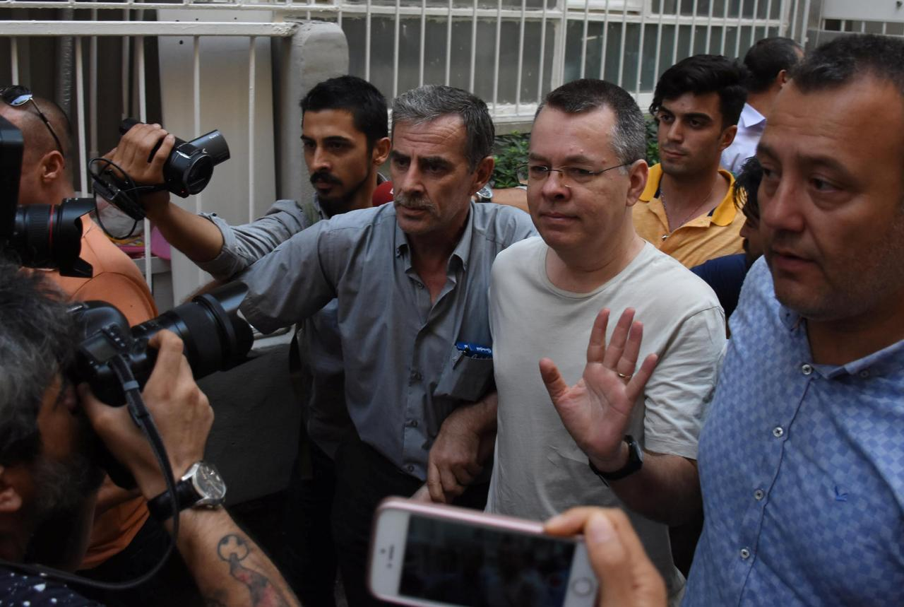 Turkish court rejects pastor Brunson's appeal for release from house arrest