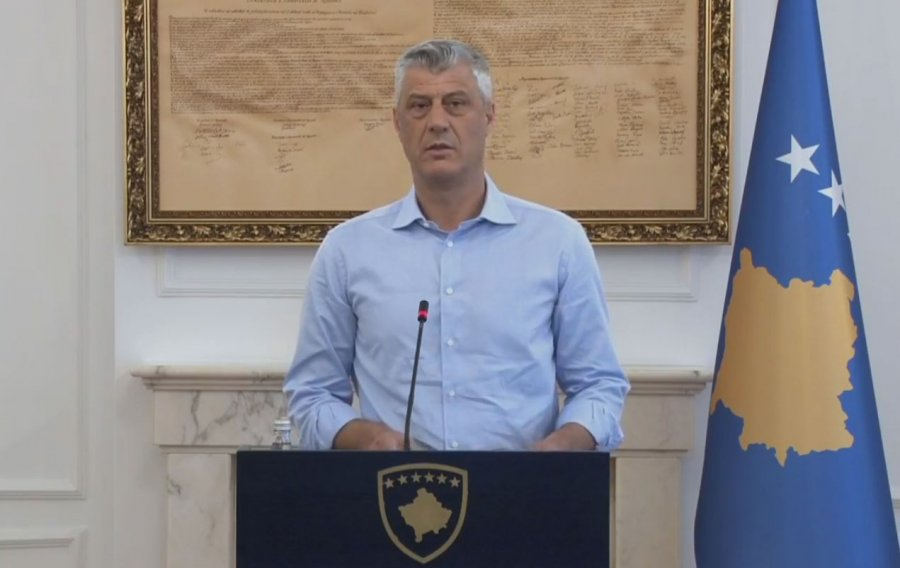 Kosovo's president dismisses the idea of dividing the country