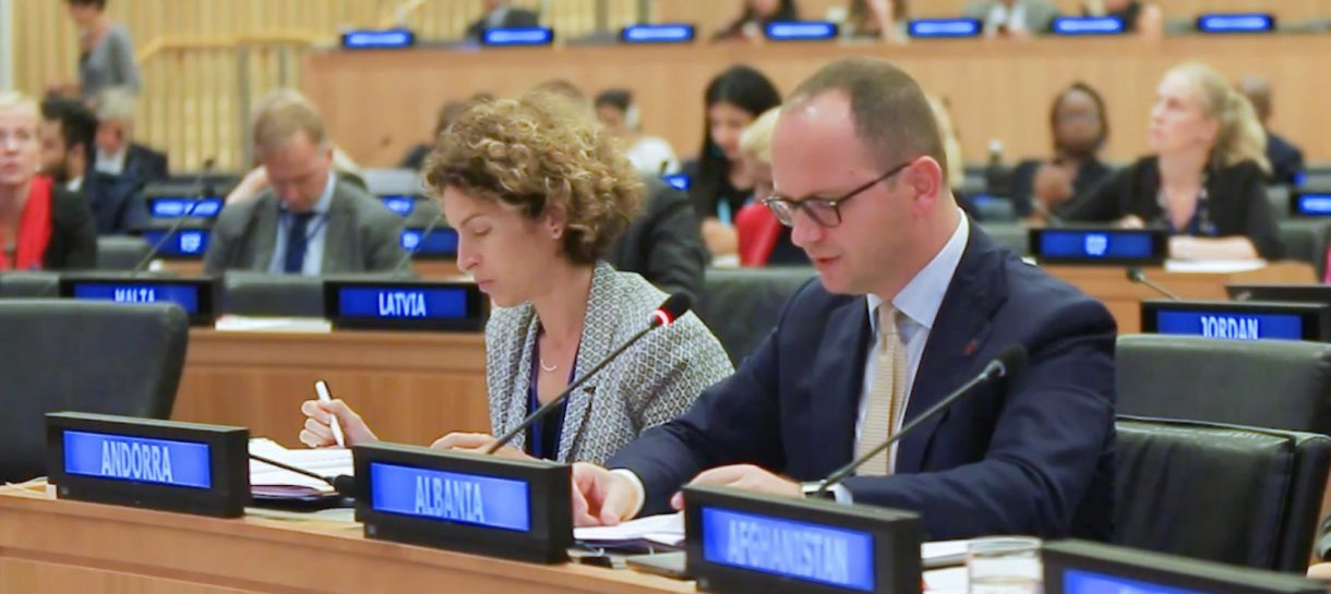 Albanian Foreign Minister Bushati at UNGA: Diversity is an integral part and a source of enrichment in our society