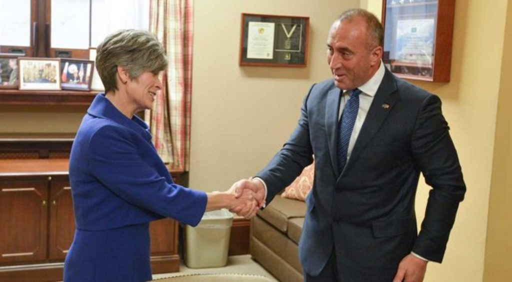 Kosovo's PM Haradinaj requests the US' involvement in the talks with Serbia