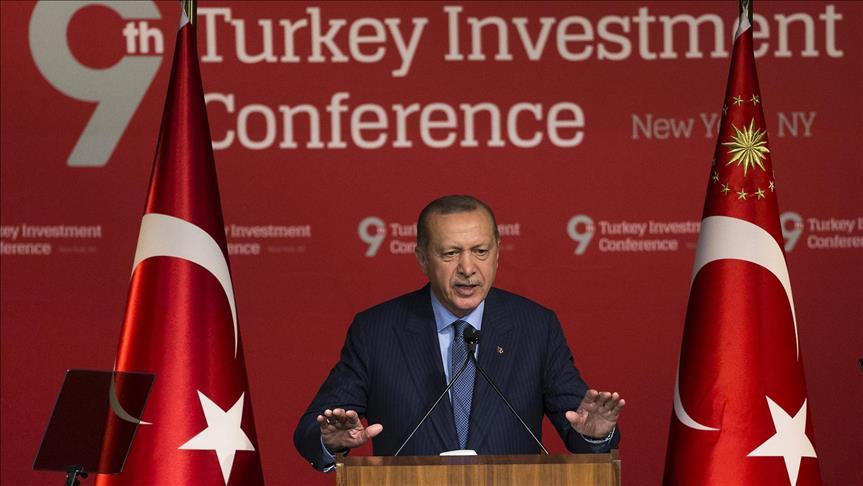 Erdoğan says U.S.-Turkey 'turbulent period' will be surmounted, Pekcan tellsU.S. 'It's time to invest in Turkey'