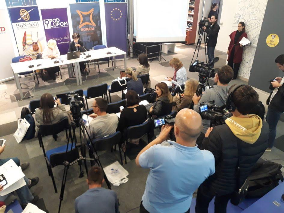 Media in BiH put tothe 'election test' ahead of the October 7 general polls