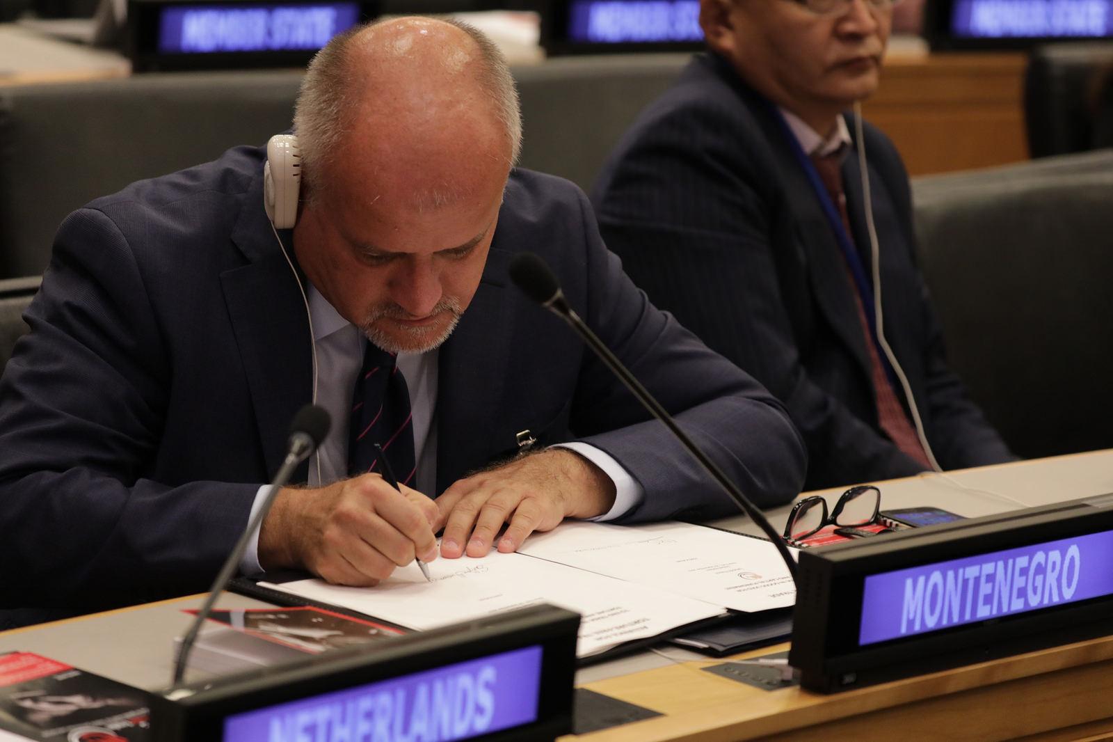 Darmanović: Montenegro 'provides unambiguous support to'Torture-Free Trade global Initiative
