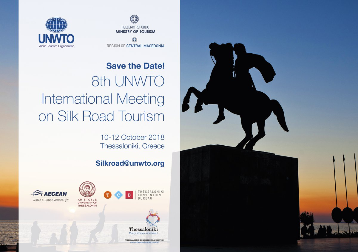 Thessaloniki will host the 8th International Meeting on Silk Road Tourism shortly