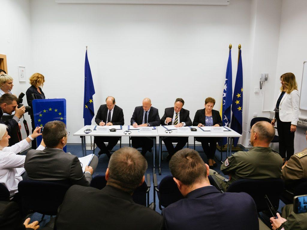 EU fund-supports new demining projects in Bosnia and Herzegovina