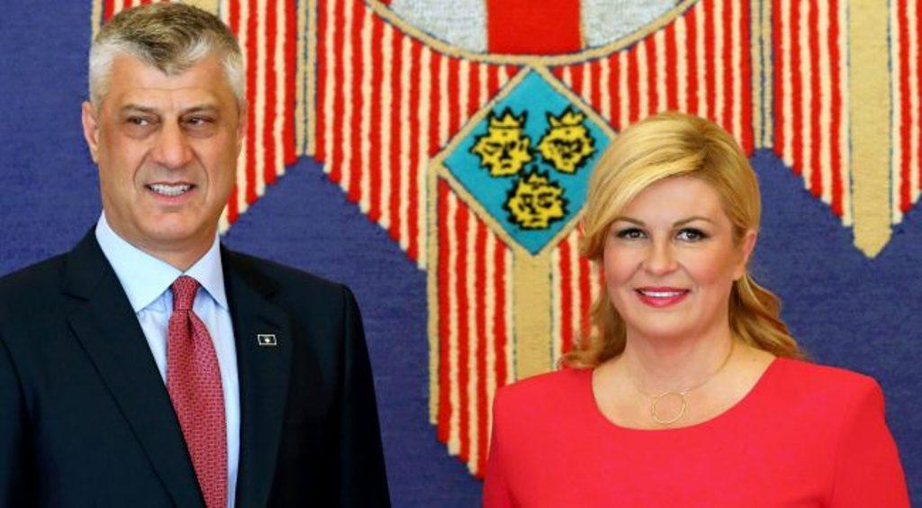 Croatian president against border changes in the Balkans