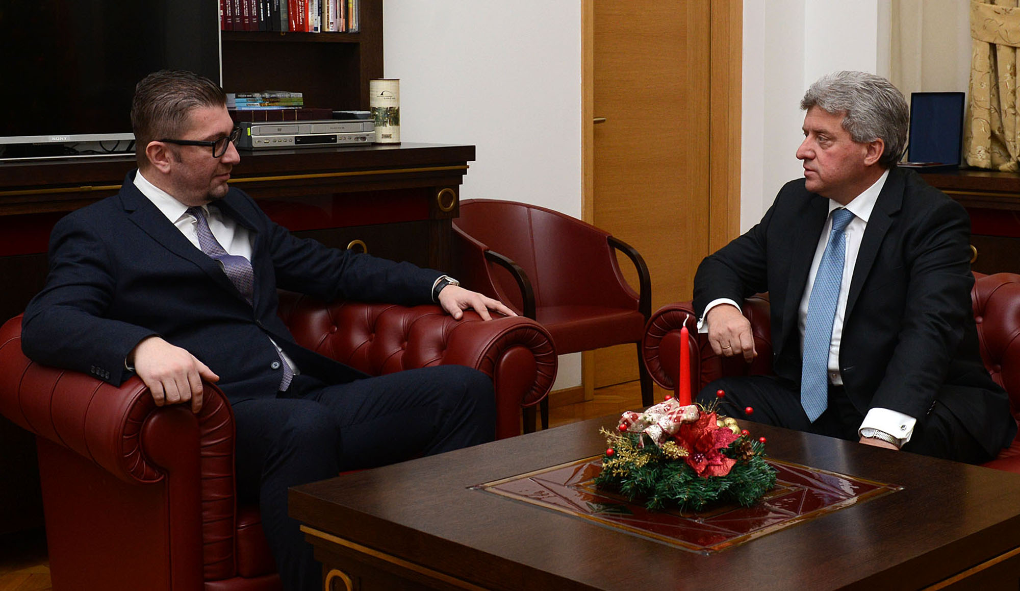 President Djordje Ivanov shares the same view on the referendum as VMRO-DPMNE
