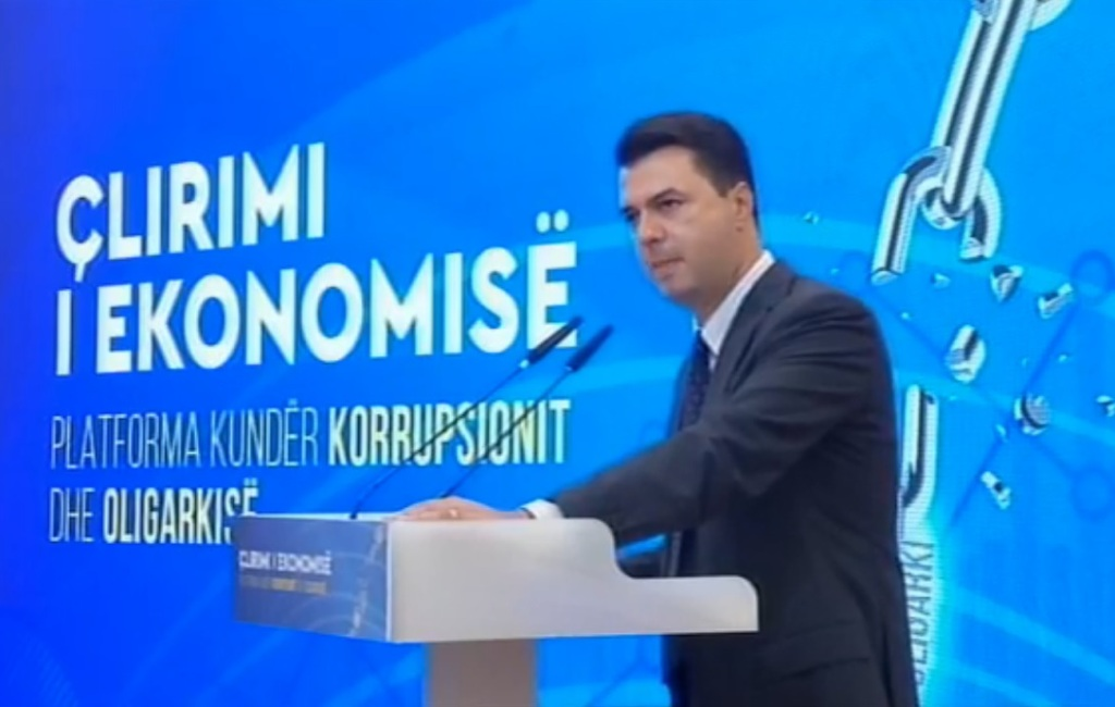 Albanian opposition presents its economic platform and measures on how to fight crime