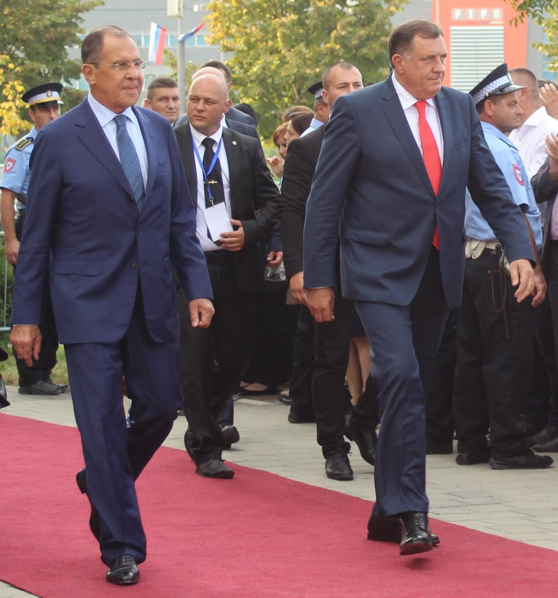 Lavrov reiterates that Russia supports BiH's territorial integrity