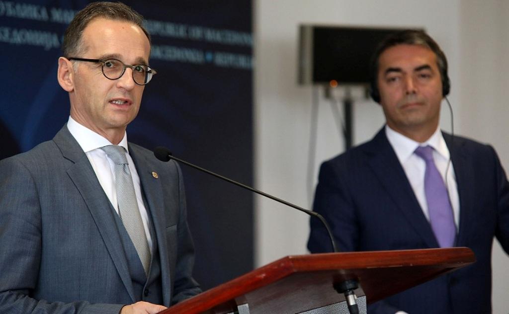 German Foreign minister visits Skopje