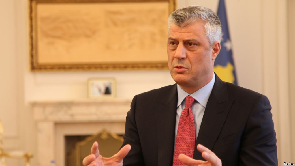 Hashim Thaci: Without a border correction, there will be no agreement with Serbia