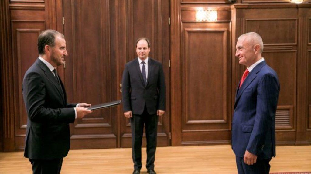 New EU ambassador to Albania presents his credentials