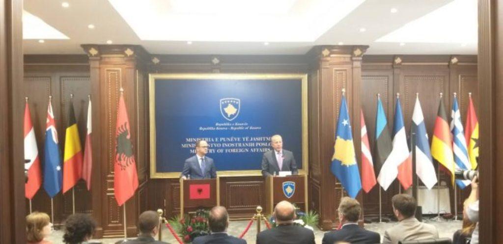 Kosovo's Pacolli wants Albania to be part of the Kosovo-Serbia dialogue