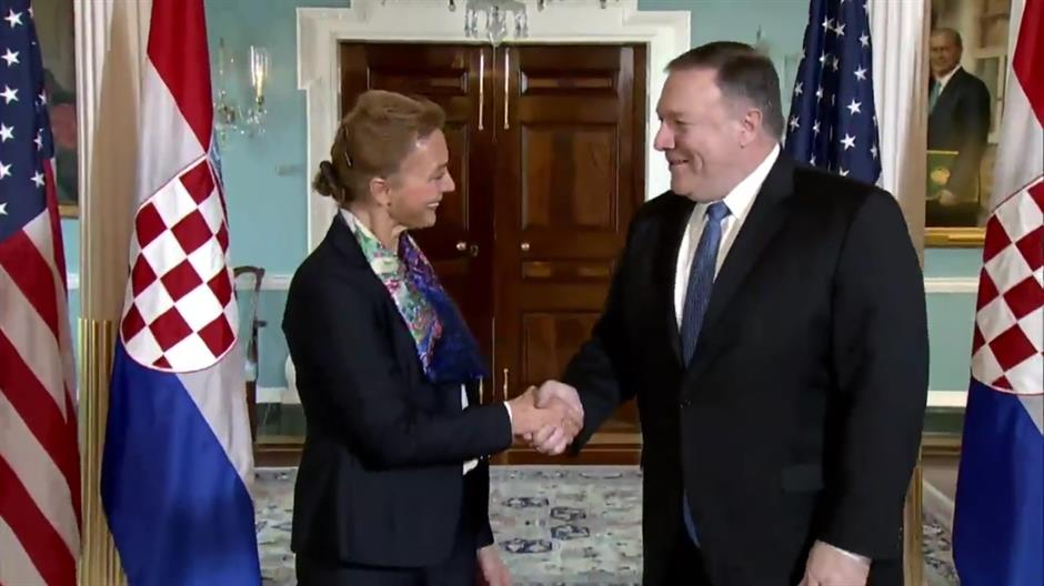 Secretary Pompeo's Meeting With Croatian Foreign Minister Buric
