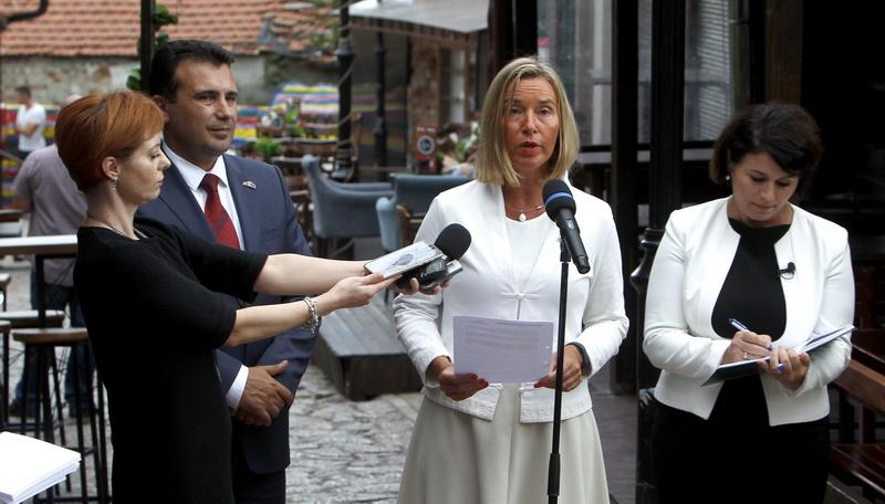 ΠΓΔΜ: Μήνυμα στήριξης του δημοψηφίσματος από την Mogherini