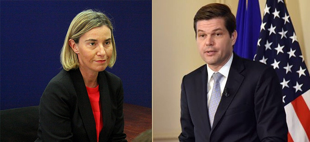 Mogherini and Mitchell to visit Skopje today