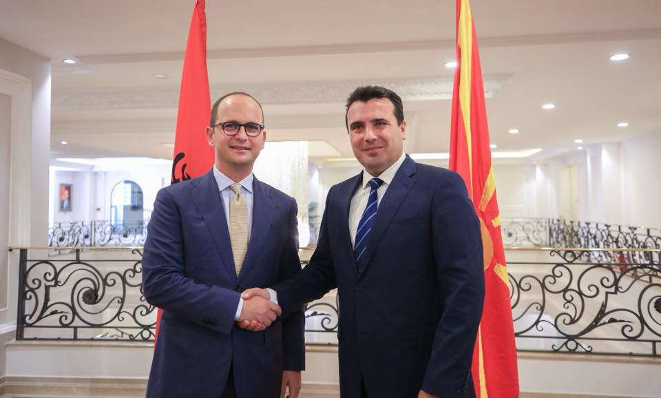 Zaev-Bushati: A vote in favour of the referendum is the key for NATO and EU accession