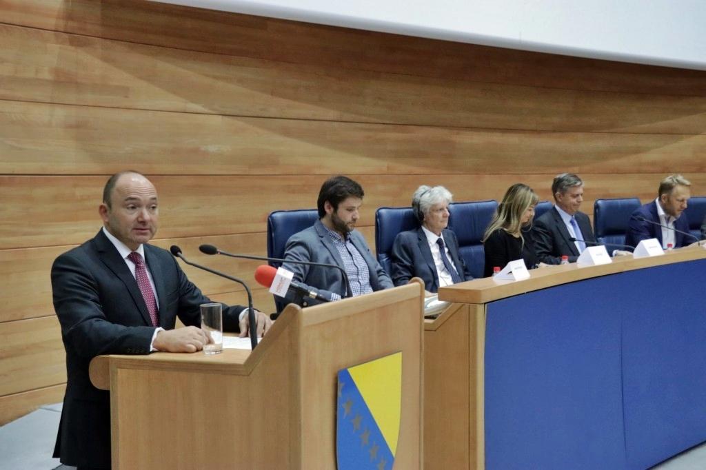 Wigemark: Next year crucial for BiH's path to EU