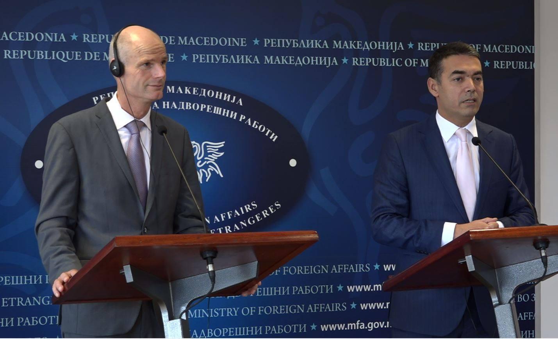 Dutch Foreign minister visits Skopje