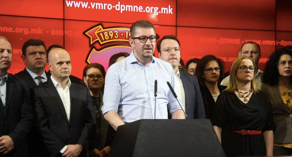 VMRO-DPMNE's position on the referendum: Every citizen should vote based on his convictions