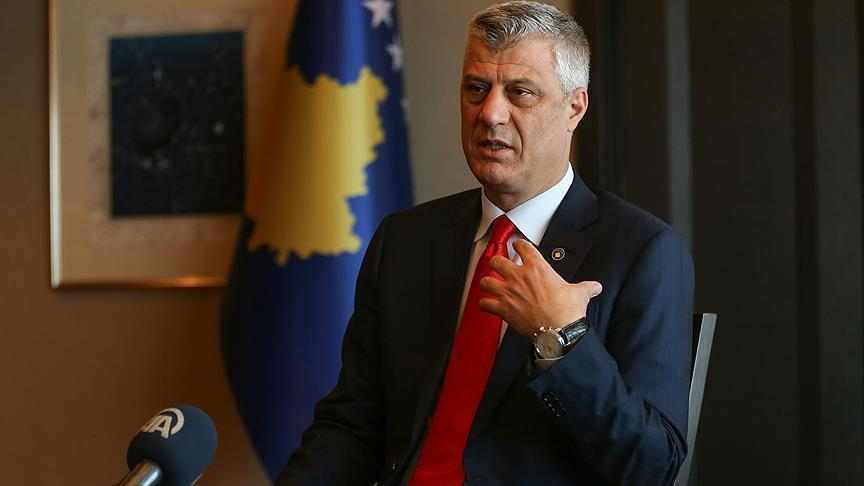 Hasim Thaci: The dialogue between Serbia and Kosovo will end with mutual recognition