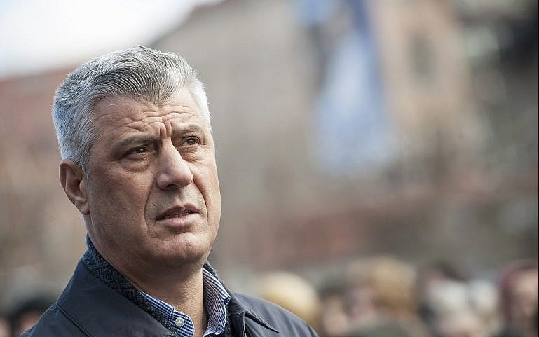Serbian authorities ready to arrest Thaci