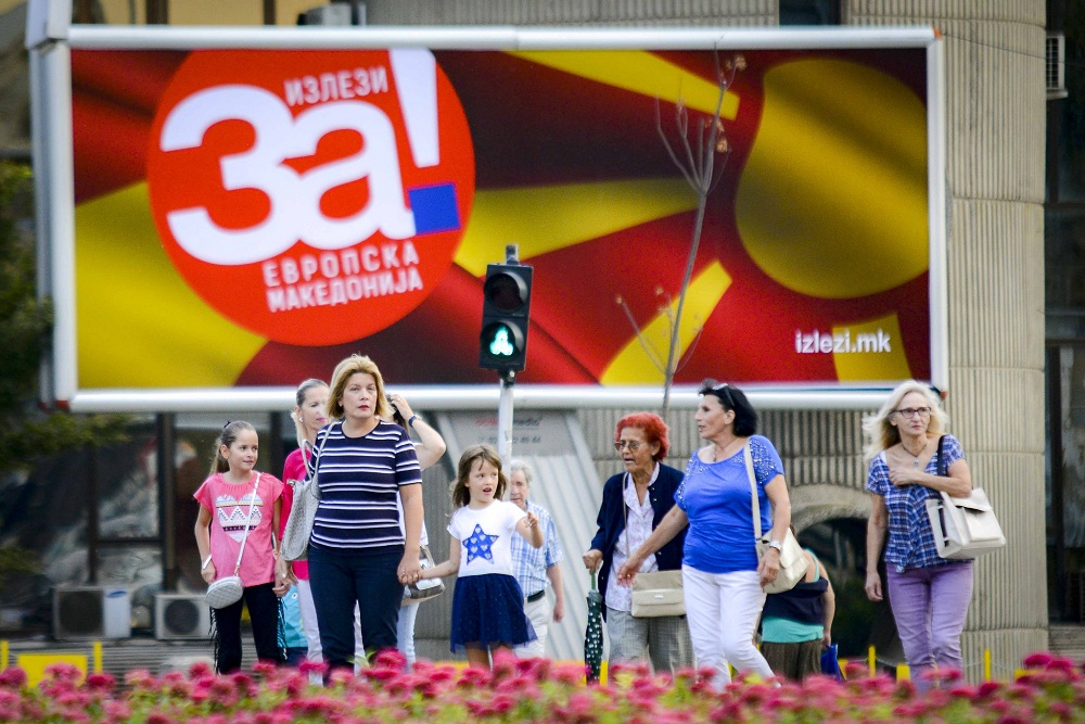 The campaign for the referendum in FYROM to start today