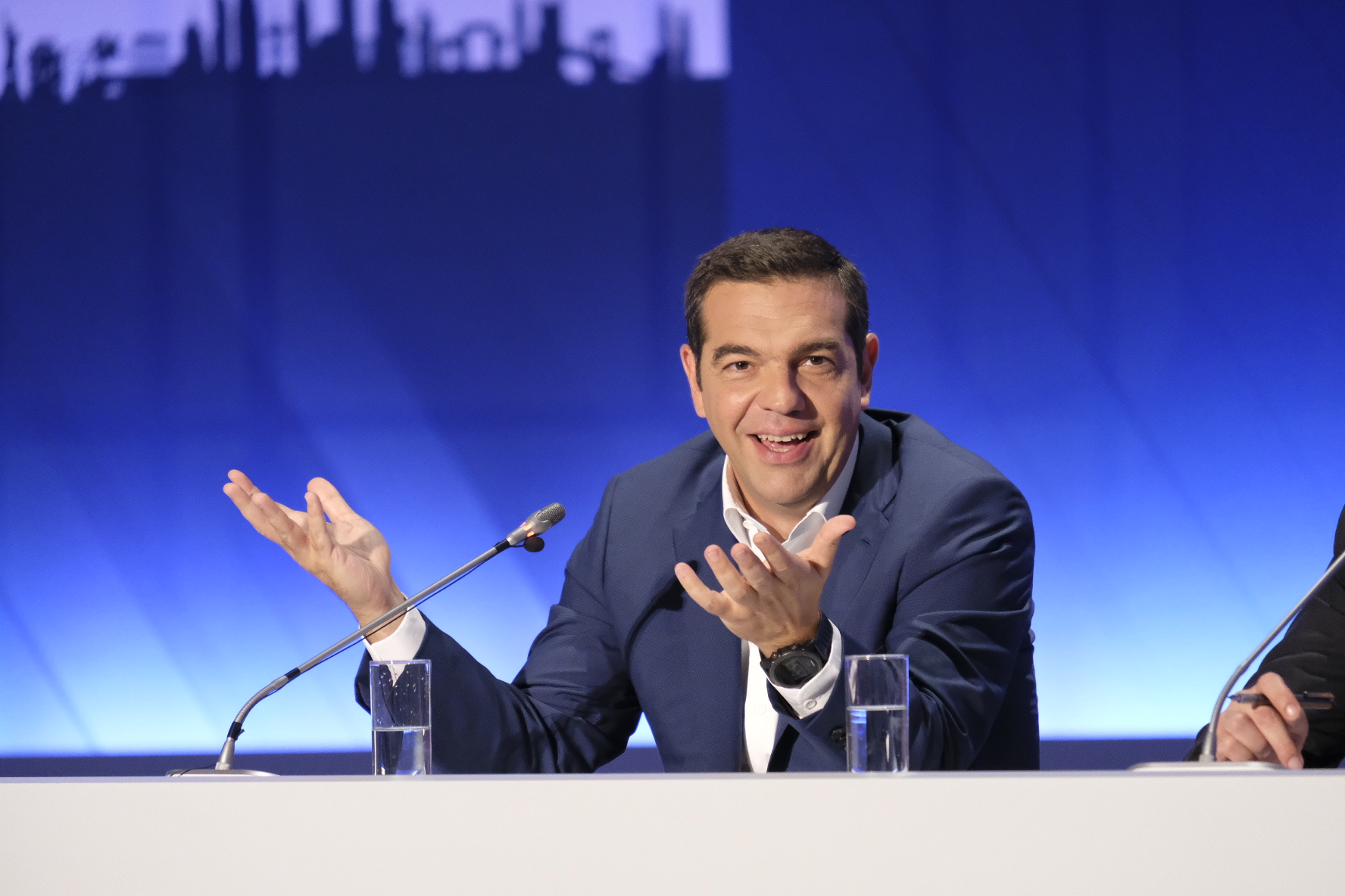 Tsipras determined to see out 4 year term; says economy is on track